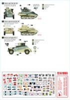 Star Decals 1/72 ANZAC Part 2 Australian & NZ AFVs in Africa and Middle East # 72-A1065